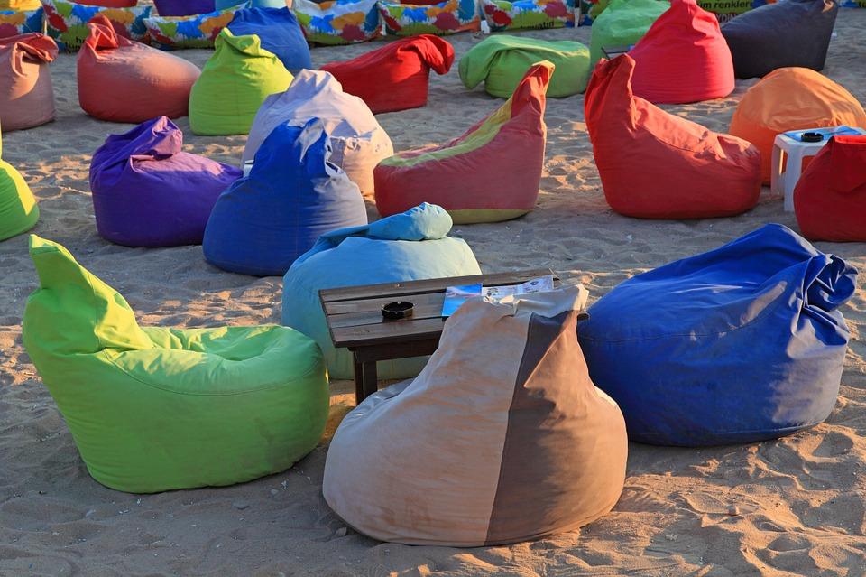 Plážové posezení