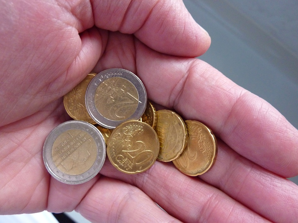 eura v dlani