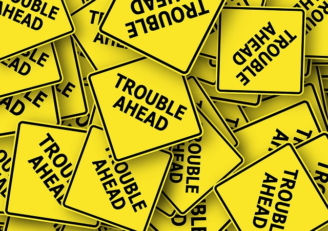 problémy na cestě