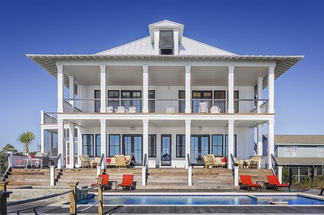 bazén před domem
