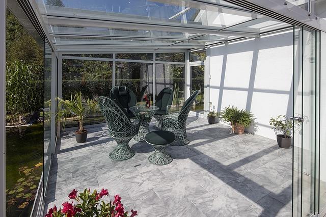 Luxusní zimní zahrada