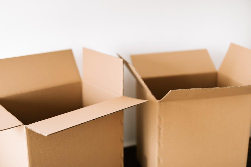 krabice stěhování